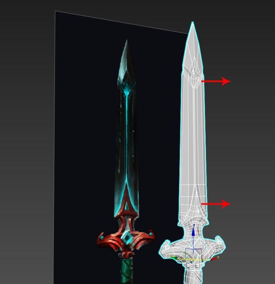 灵剑(Spirit Sword)3D制模_Renderbus云渲染农场