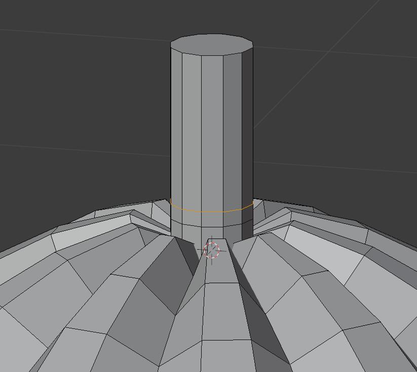 如何建模低多边形样式的万圣节南瓜柄建模制作-Renderbus渲染农场