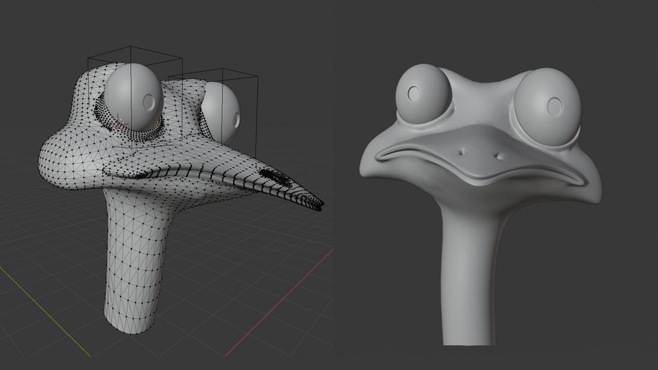 Blender制作细节雕刻-renderbus云渲染农场