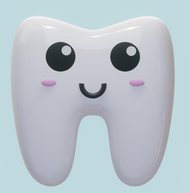 牙齿动画设置-Renderbus云渲染农场