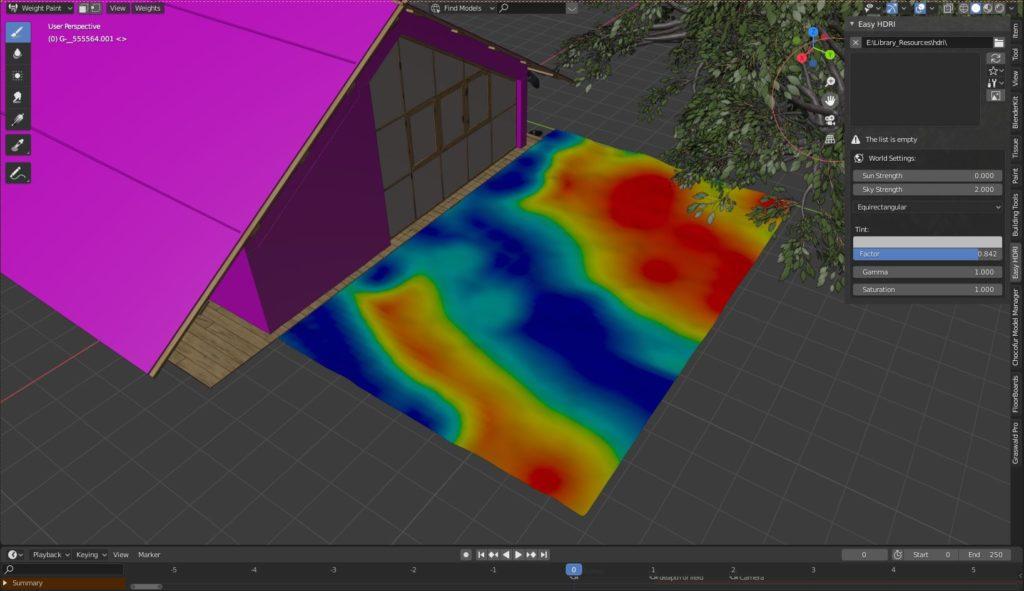 室外环境制作-Renderbus云渲染农场