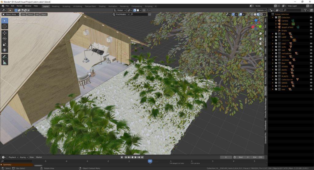 室外环境效果-Renderbus云渲染农场