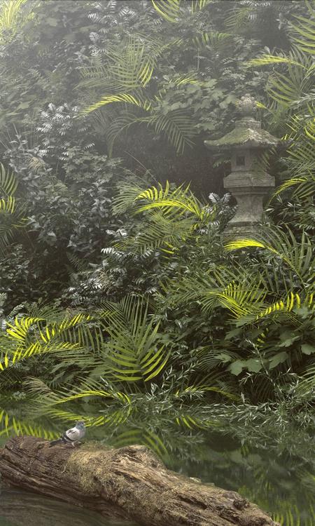 树木渲染制作-Renderbus云渲染农场