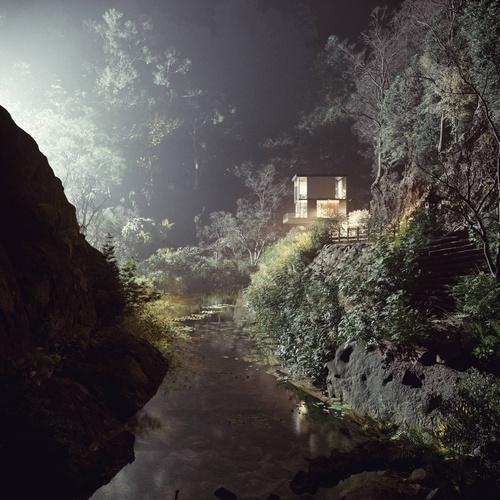 夜间场景效果-Renderbus云渲染农场