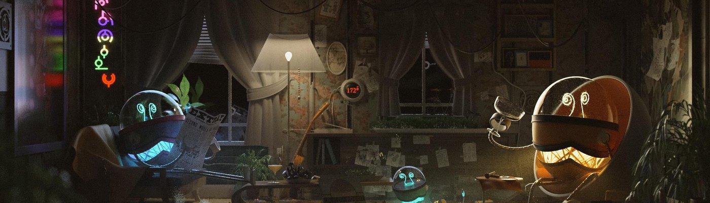 使用Maya,Arnold为机器人朋友创建一个舒适的室内场景