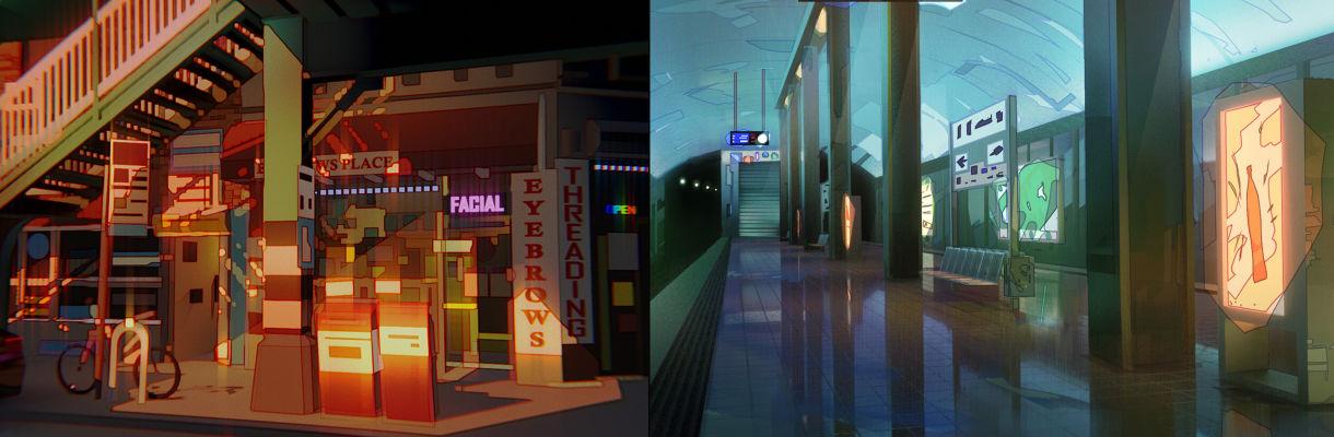 【Blender教程】使用Blender创建具有2D效果的3D场景(下)