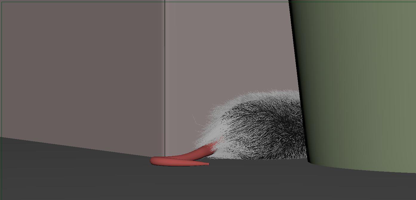 老鼠的毛发设置 - Renderbus云渲染农场