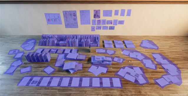 书本、海报、扫把、茶壶、窗帘等模型材质的制作