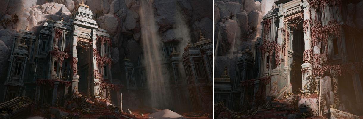 """用ZBrush和3ds Max制作""""古庙入口""""的工作流程"""
