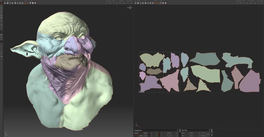 Zbrush,3ds Max制作逼真的妖怪:面部和盔甲雕刻工作流程(下)