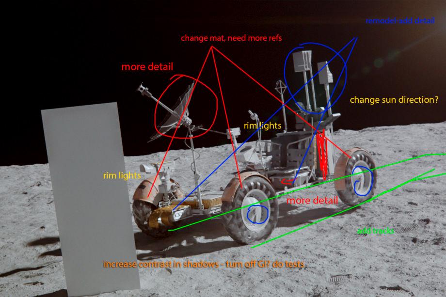 3ds Max太空漫游场景:材质和灯光的制作心得  (下)