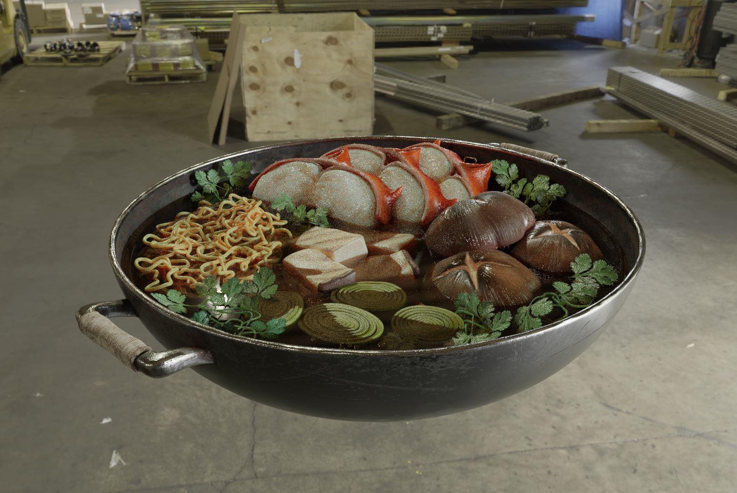 制作食物-Renderbus云渲染农场