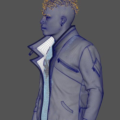ZBrush和Maya制作写实风格的3D角色:凤凰