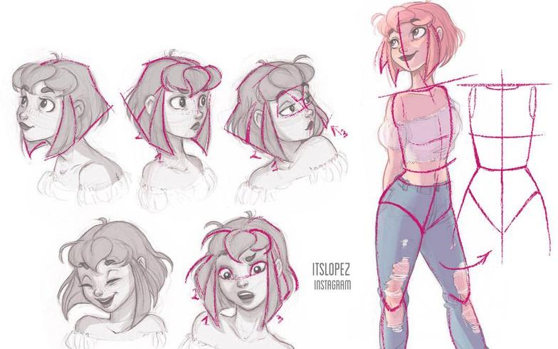 使用ZBrush,Maya和Marvelous Designer创建卡通风格的角色