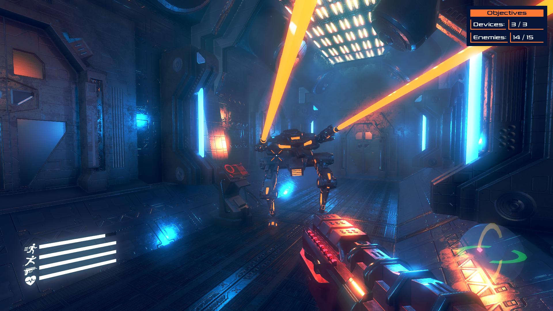 【Blender制作】用Blender制作一个FPS Game设计游戏机器人