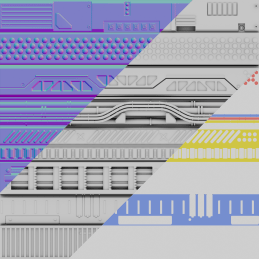 装饰板制作 - Renderbus云渲染农场