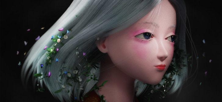 【Blender教程】在Blender中制作森系少女(上)