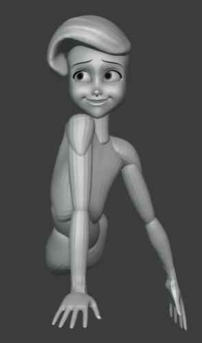 Blender制作教程:打造迪士尼小美人鱼-3D模型_Renderbus自助渲染农场