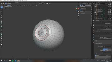Blender制作教程:打造迪士尼小美人鱼-眼球_Renderbus自助渲染农场