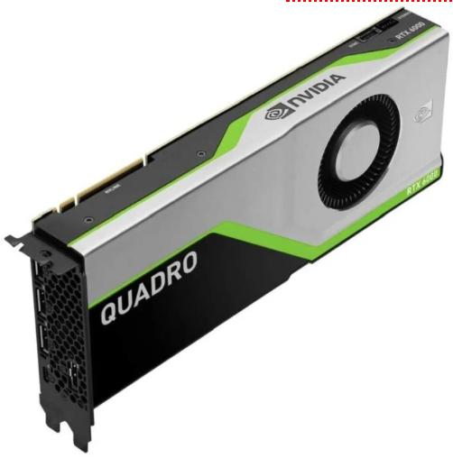 最佳高端专业GPU:Nvidia Quadro RTX 6000