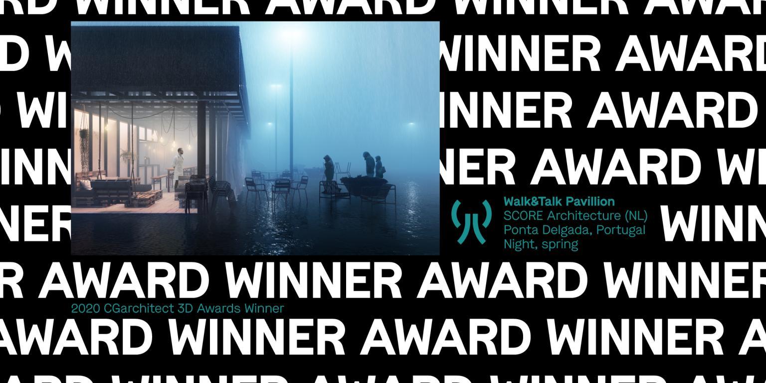 图像(商业)组冠军作品《Walk&Talk Pavillon》-Renderbus云渲染农场