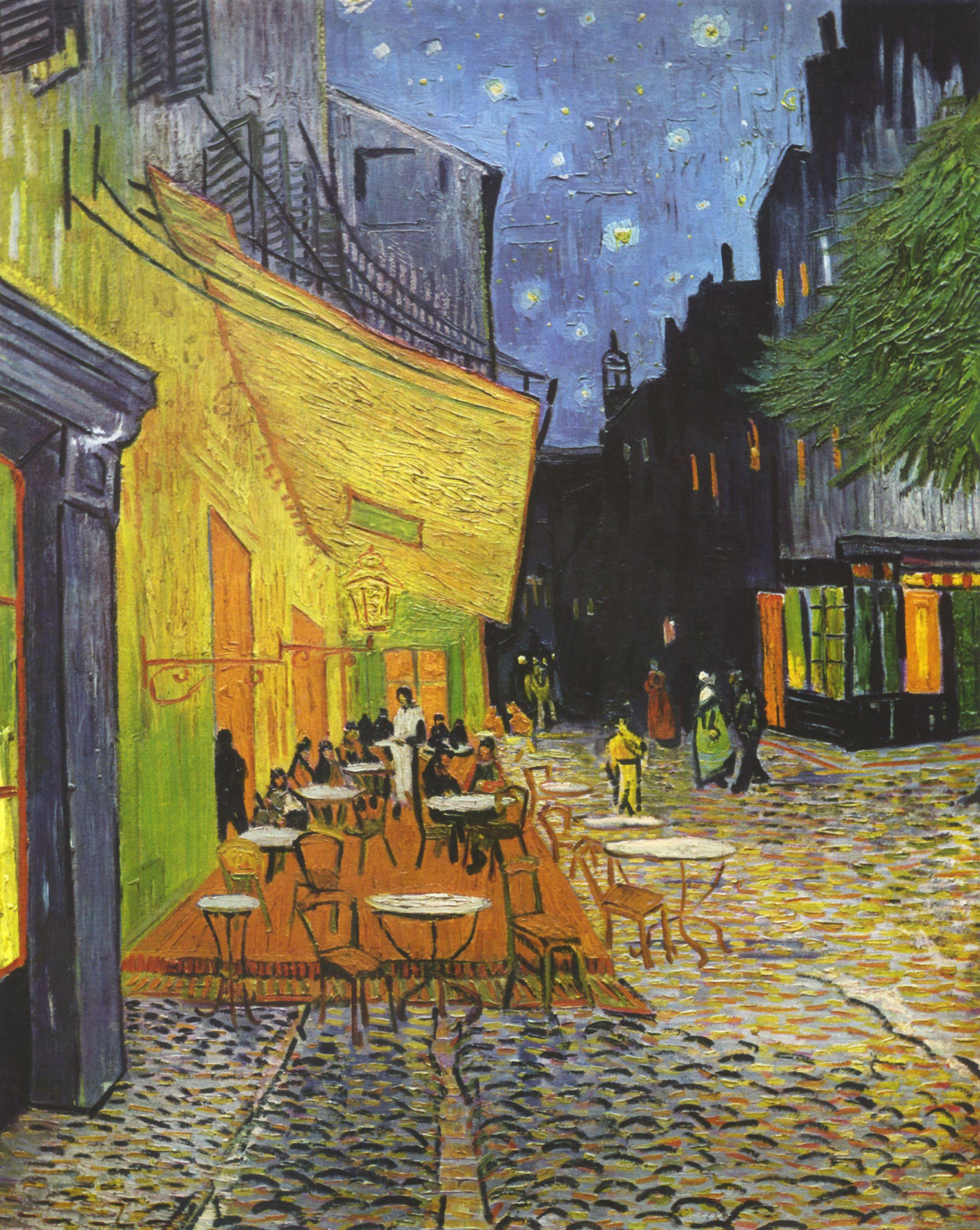 Café Terrace at Night © Vincent Van Gogh