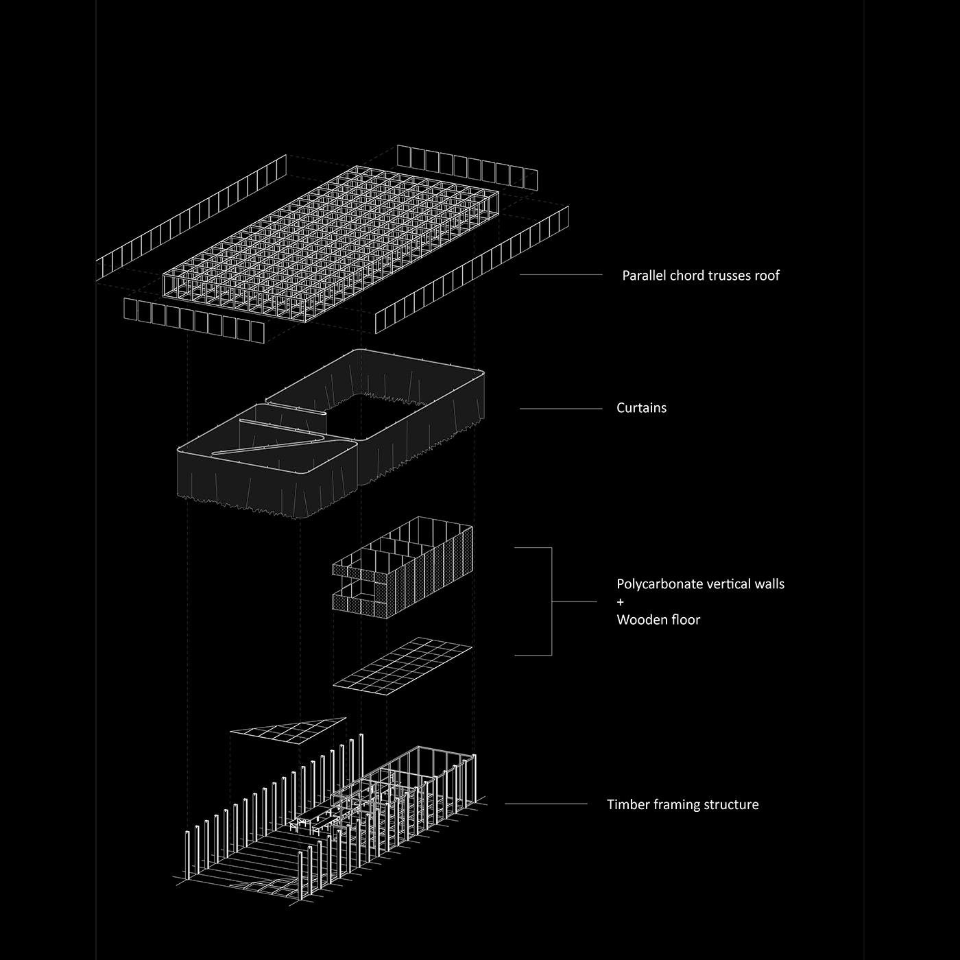 SCORE Architecture工作室设计图