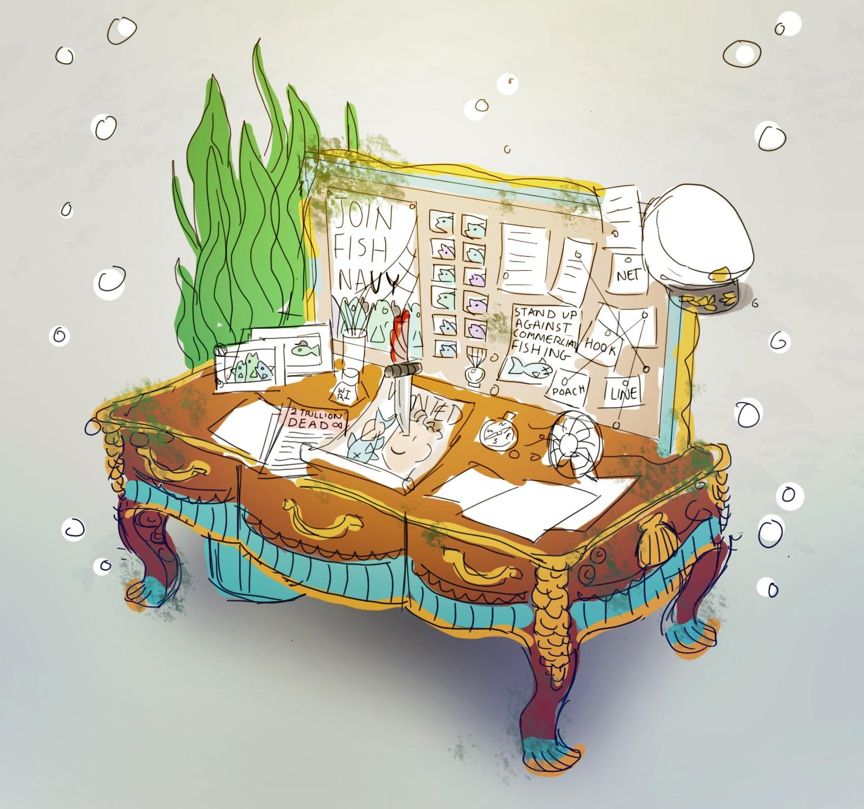 船长的桌子想法的来源