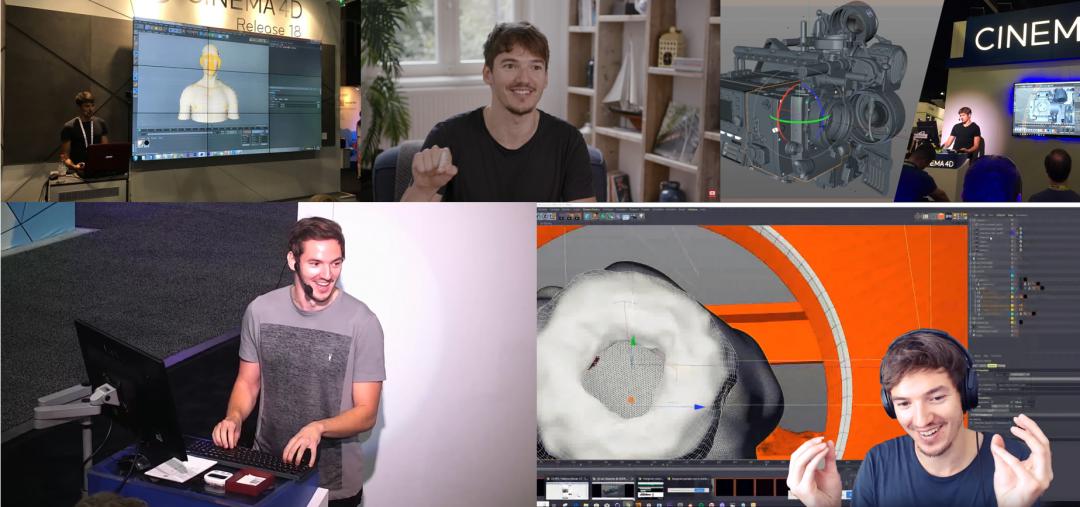 IBC 2016;Adobe采访;SIGGRAPH 2017; SIGGRAPH 2019(Maxon邀请);MDA采访