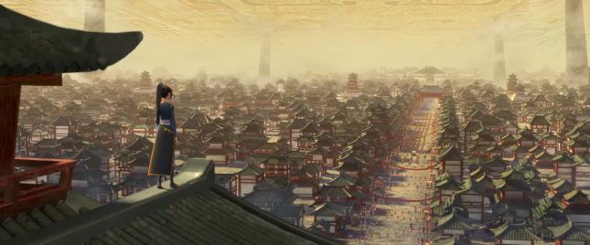 《俑之城》电影场景 - 瑞云渲染农场