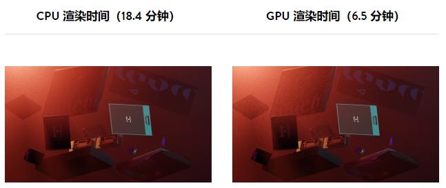 CPU 与 GPU 速度 - 瑞云渲染