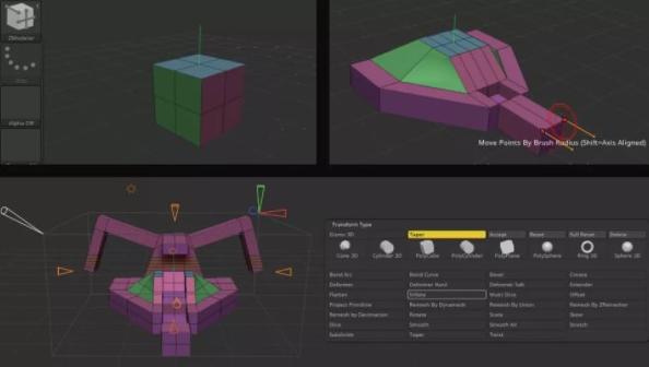 尝试使用 ZModeler 或 Gizmo 3D 进行硬表面建模 - 瑞云渲染