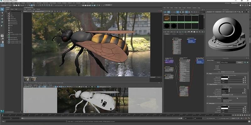 Autodesk Maya – 整体最佳