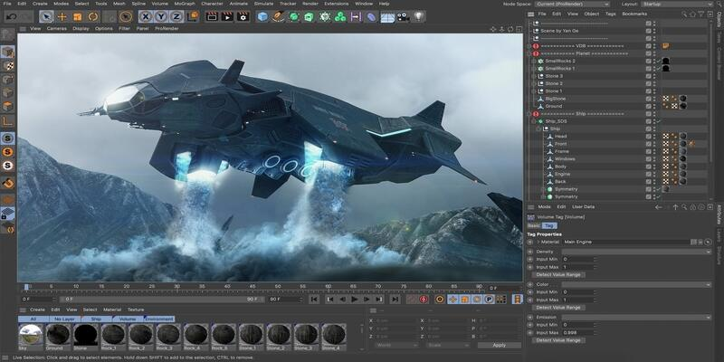 Cinema 4D – 适合初学者的最佳3D动画软件