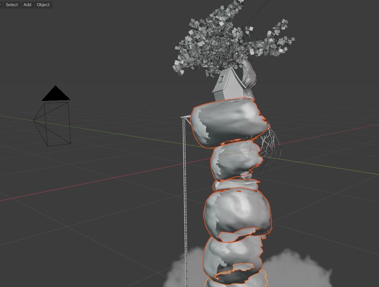 在Blender中制作梦幻天空渲染和后期制作 - 瑞云渲染