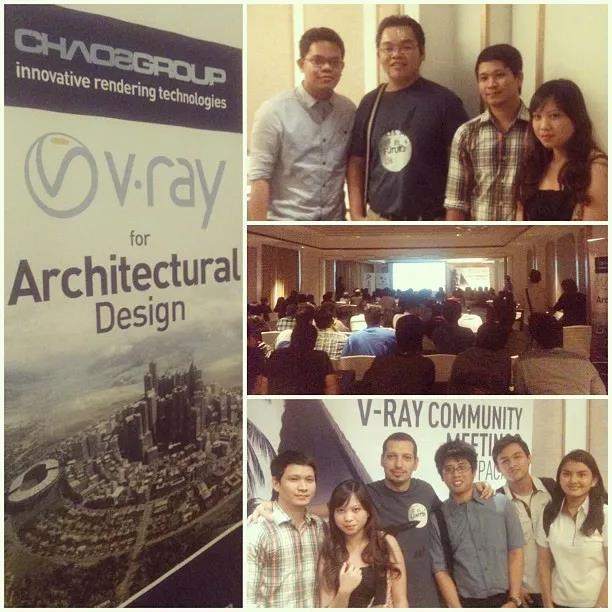 亚太区V-Ray Community Meetings活动剪影