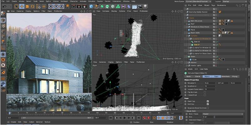 在Cinema 4D中更快渲染的快速专业提示-瑞云渲染农场